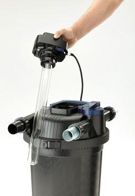 Oase Filtoclear Pro 8000 Pressurized Pond Filter W 55w Uv Lamp